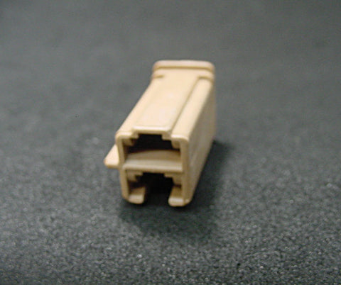 2 Way Terminal Housing Female Tan Delphi, Packard, Terminal Housing, Connector Housing, 56 Series 06294828