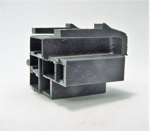 4 Way Terminal Housing With Tabs Female Black Delphi Packard, Terminal Housing, Connector Housing, 56 Series 6294641
