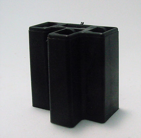4 Way Terminal Housing Female Black Delphi Packard, Terminal Housing, Connector Housing, 56 Series 08917729