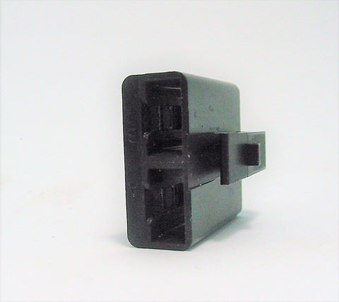 2 Way Terminal Housing With Slide Female Black Delphi, Packard, Terminal Housing, Connector Housing, 56 Series 0891288