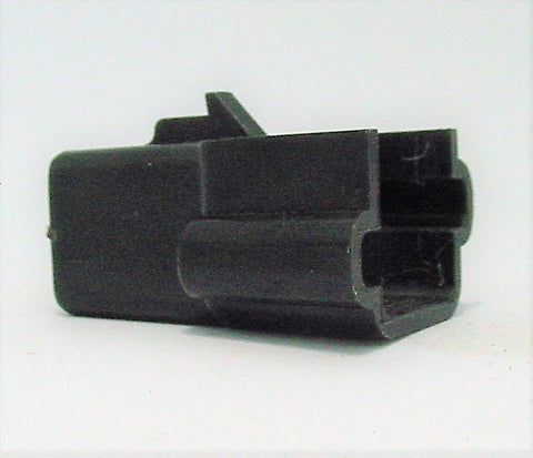 2 Way Connector Housing with Pin Notch Male Black Delphi, Packard, Terminal Housing, Connector Housing, 56 Series 12015986
