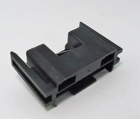 2 Way Terminal Housing with Latch Black Long Female Black Delphi, Packard, Terminal Housing, Connector Housing, 56 Series 08917174