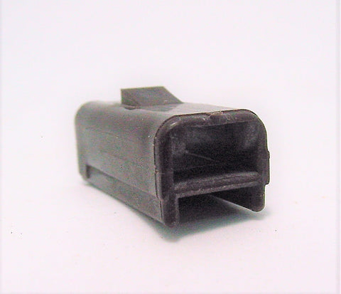 1 way Terminal Housing, Delphi, Packard, 56 Series 1 Way Terminal Housing Female Brown