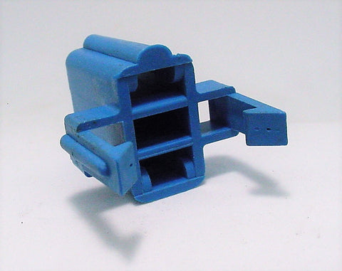 2 Way Terminal Housing Female Blue Delphi, Packard, Terminal Housing, Connector Housing, 56 Series 12020153