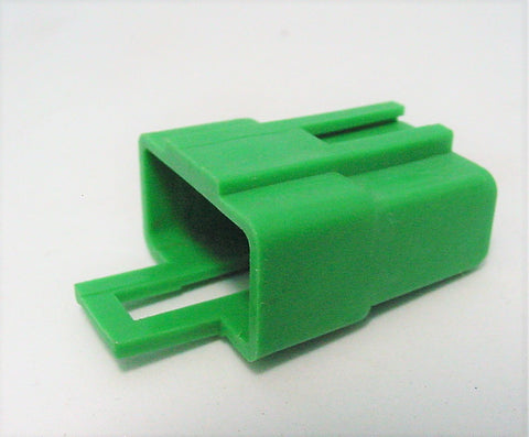 3 Way Terminal Housing With Latch Male Green Delphi Packard, Terminal Housing, Connector Housing, 56 Series 12040950