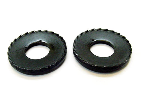 "2pc 1961-1984 GM 1/2"" Conical Toothed Bumper Bracket Washers"