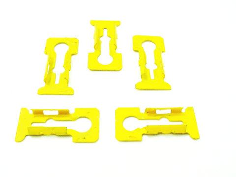 5 GM Quarter Belt Vinyl Top Reveal Moulding Clips 1975-78