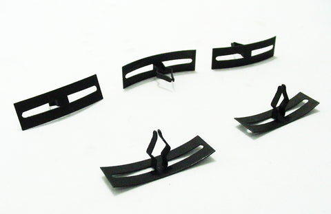 5 pack T-head Metal Weatherstrip Retainers Spring Clips
