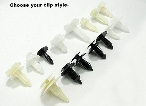 10 Pack Door Panel Retainers Clips Fasteners Choose a Style