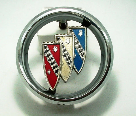 Used 1960 Buick Chrome Tri-Shield Grill Emblem