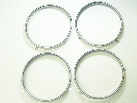 1958-1974 GM Headlamp Retainer Stainless Steel Trim Ring