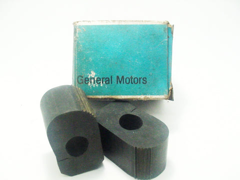 "NOS Genuine GM 1967-1970 Front Stabilizer Bar Bushings 0.72""ID"