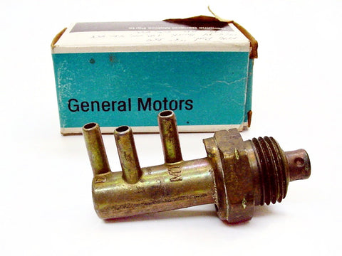 Pontiac Thermo Controlled 3 Port Vacuum Switch NOS