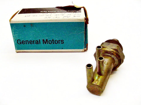 Chevrolet Thermo Controlled 3 Port Vacuum Switch NOS