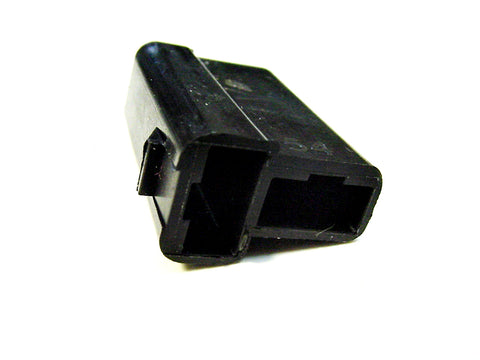 2 Way Terminal Housing T Shaped Female Black Delphi, Packard, 56 Series 2973781