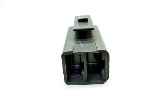 2 Way Terminal Housing with Lock Pin Gray Female Delphi, Packard, 56 Series 02977373-B