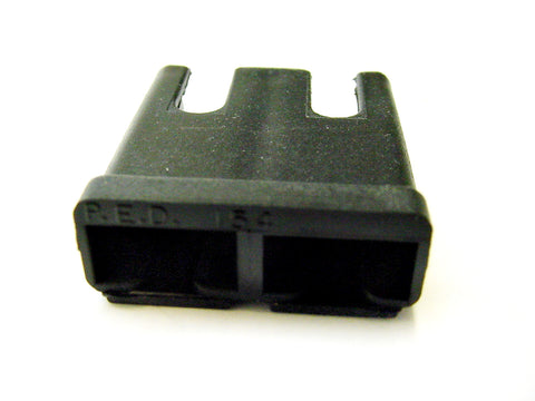 2 Way Terminal Housing with Pin Notches Female Black Delphi, Packard, 56 Series 02973407