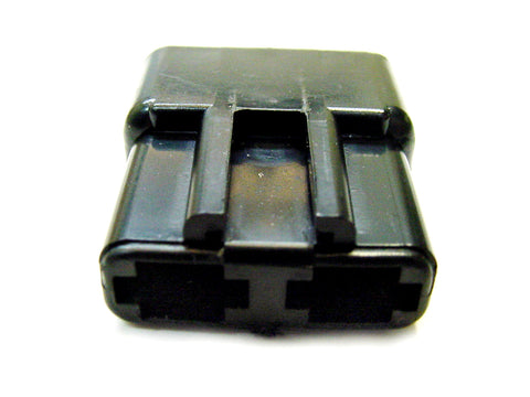 2 Way Terminal Housing Male Black Delphi, Packard, 56 Series 02973431-B