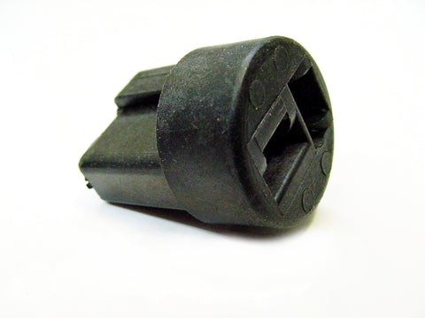 2-Way Black Female Wire Harness Connector Housing