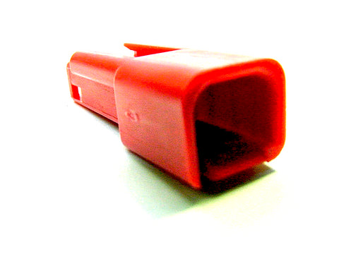 2 Way Unsealed Connector Male Red Delphi, Packard, 56 Series 12059252