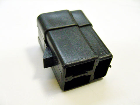 3 Way Terminal Housing Female Gray Delphi Packard, Terminal Housing, Connector Housing, 56 Series 02984378-B