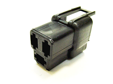 3 Way Terminal Housing Male Black Delphi Packard, Terminal Housing, Connector Housing, 56 Series 02984678