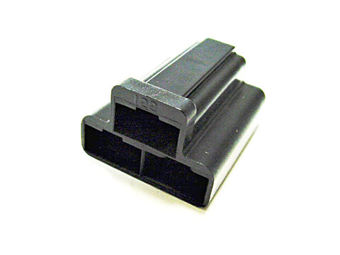 3 Way Terminal Housing Female Black Delphi Packard, Terminal Housing, Connector Housing, 56 Series 02962510