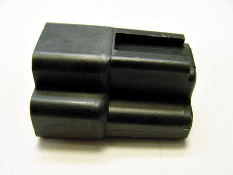 3 Way Terminal Housing Black Male Delphi Packard, Terminal Housing, Connector Housing, 56 Series 02973172-B