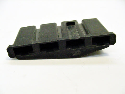 4 Way Terminal Housing Female Black Delphi Packard, Terminal Housing, Connector Housing, 56 Series 02977607