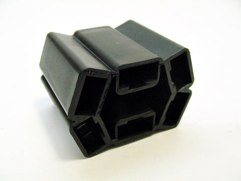 6 Way Terminal Housing Female Black Delphi Packard, Terminal Housing, Connector Housing, 56 Series 08911352-B
