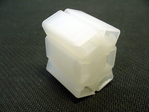 6 Way Terminal Housing Female White Delphi Packard, Terminal Housing, Connector Housing, 56 Series 12052978-B