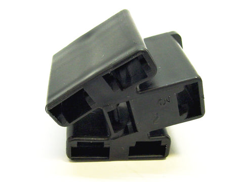 6 Way Terminal Housing Female Black Delphi Packard, Terminal Housing, Connector Housing, 56 Series 02984017-B