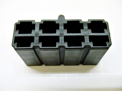 8 Way Terminal Housing Female Black Delphi Packard, Terminal Housing, Connector Housing, 56 Series 02965977-B
