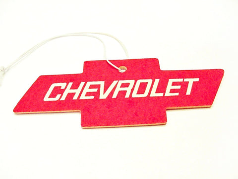 Chevrolet Bowtie Emblem Air Freshener Berry Scented