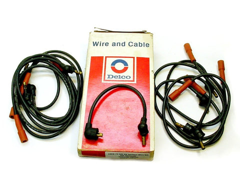 1967-1974 Buick/Cadillac Date Coded Spark Plug Ignition Wire Set NOS #8912108