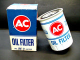 Genuine AC NOS PF7 White Oil Filter NOS