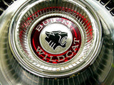1965 NOS Buick Hubcap with Wildcat Medallion