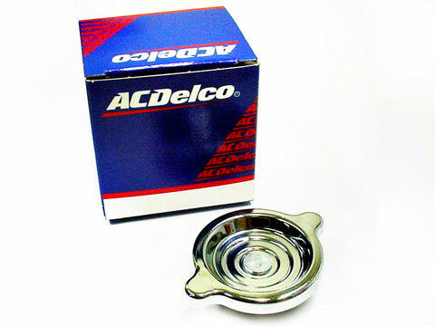 Cadillac 1968-1990 Genuine AC Delco Chrome Oil Filler Cap NOS