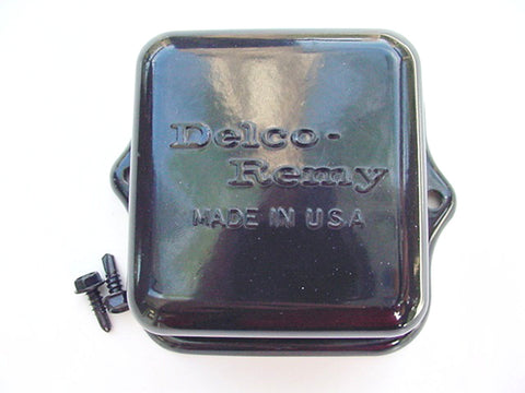 Cadillac 1963-1972 Delco-Remy Embossed Voltage Regulator Cover
