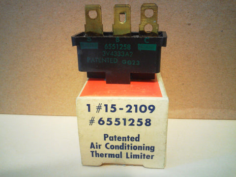 GM AC Delco Air Conditioning Compressor Thermal Limiter Fuse Switch NOS