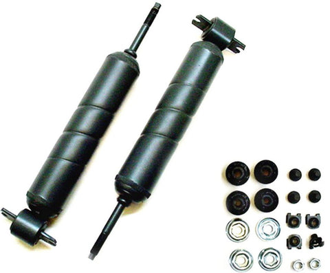Oldsmobile 1965-85 B, C, E Body Front Spiral Shock Absorbers & Hardware