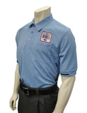 BBS310DX-Smitty Major League Style Umpire Shirt with Dixie Patch - Available in Black and Carolina Blue
