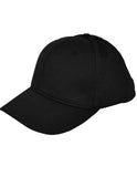 HT306-6 Stitch Flex Fit Umpire Hat-Available in Black and Navy