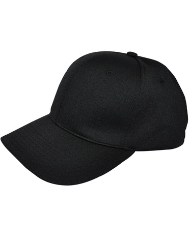 HT308-8 Stitch Flex Fit Umpire Hat - Available in Black and Navy