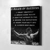 Arnold's 6 Rules of Success