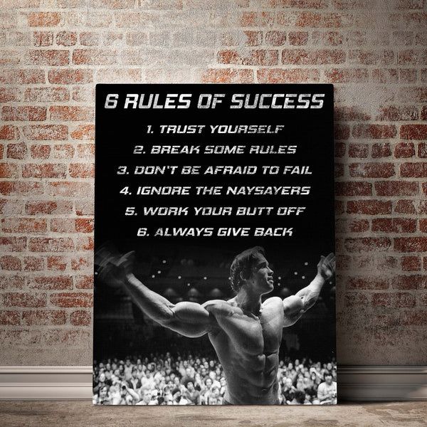 Arnold Schwarzenegger gym wall art