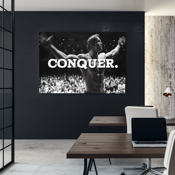 motivational success workout wall art