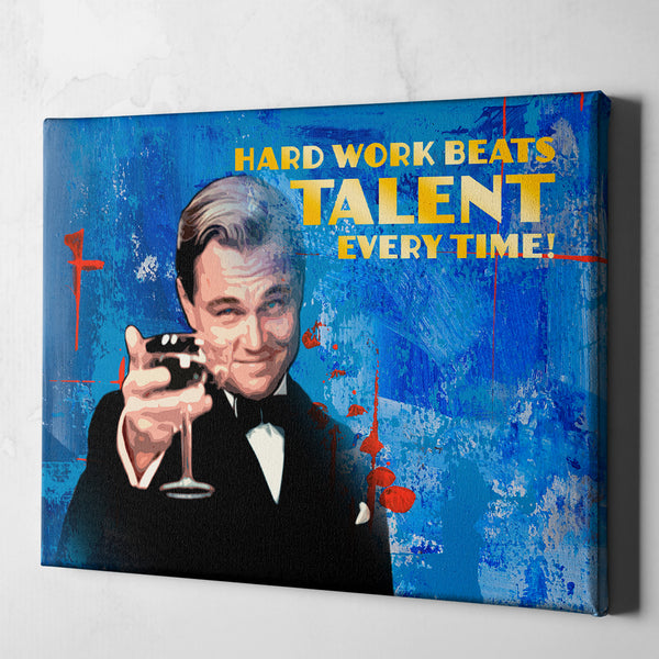 wolf of wall street wall art