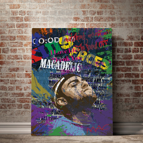 mac miller wall art
