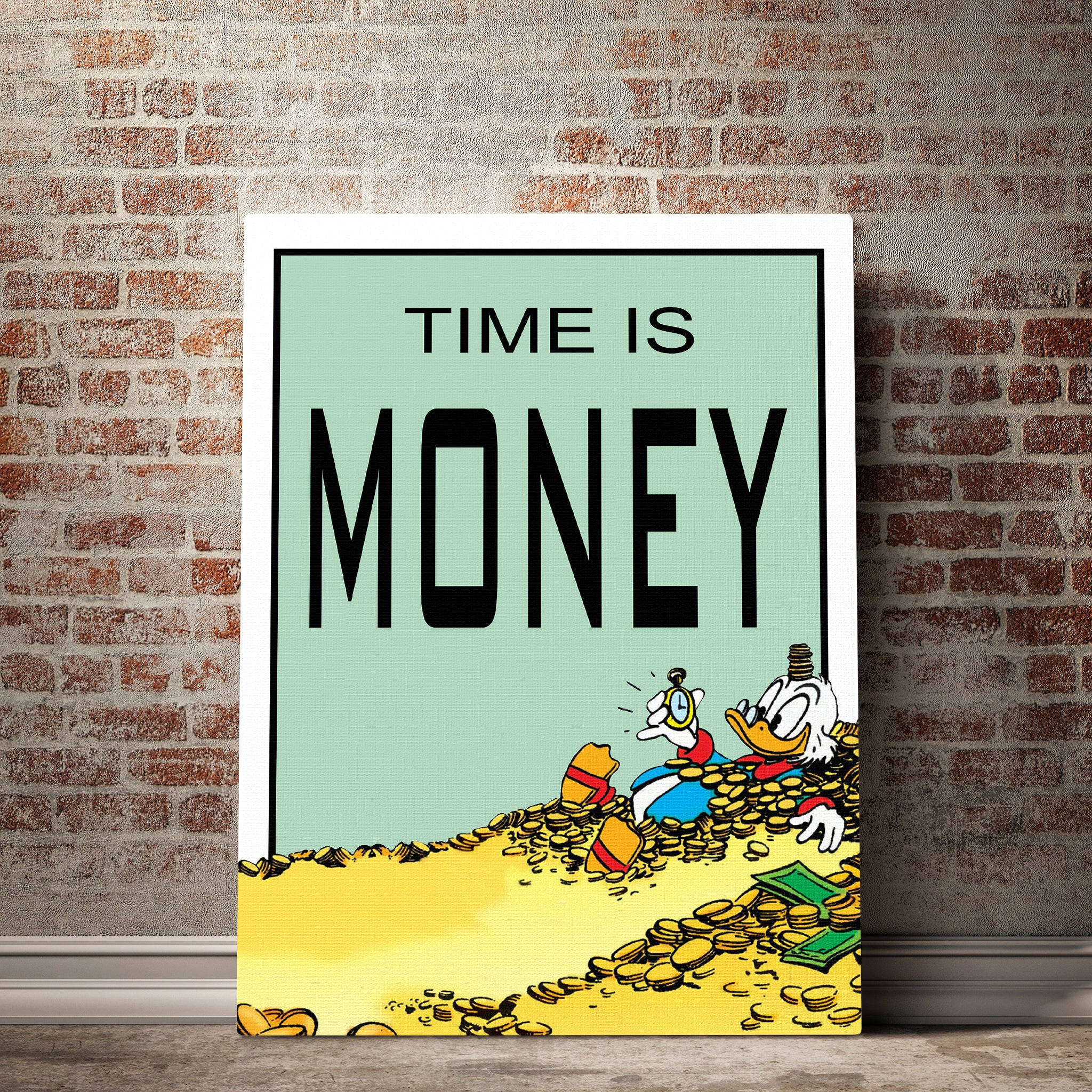 Time Is Money | Roomframes